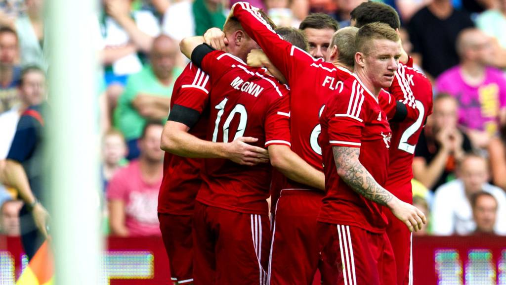 Aberdeen are in Spain to take on Real Sociedad