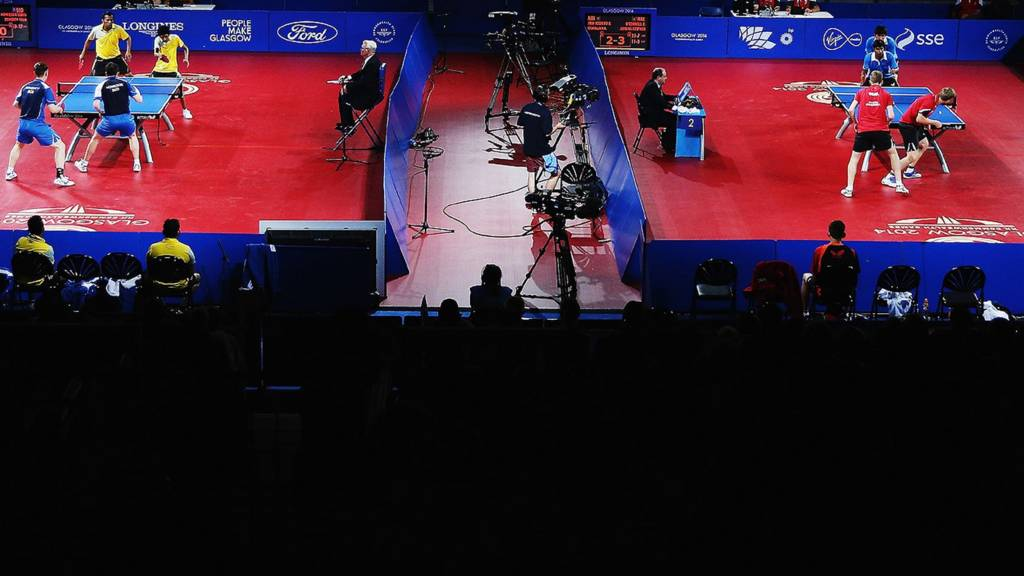 Table tennis from Glasgow 2014