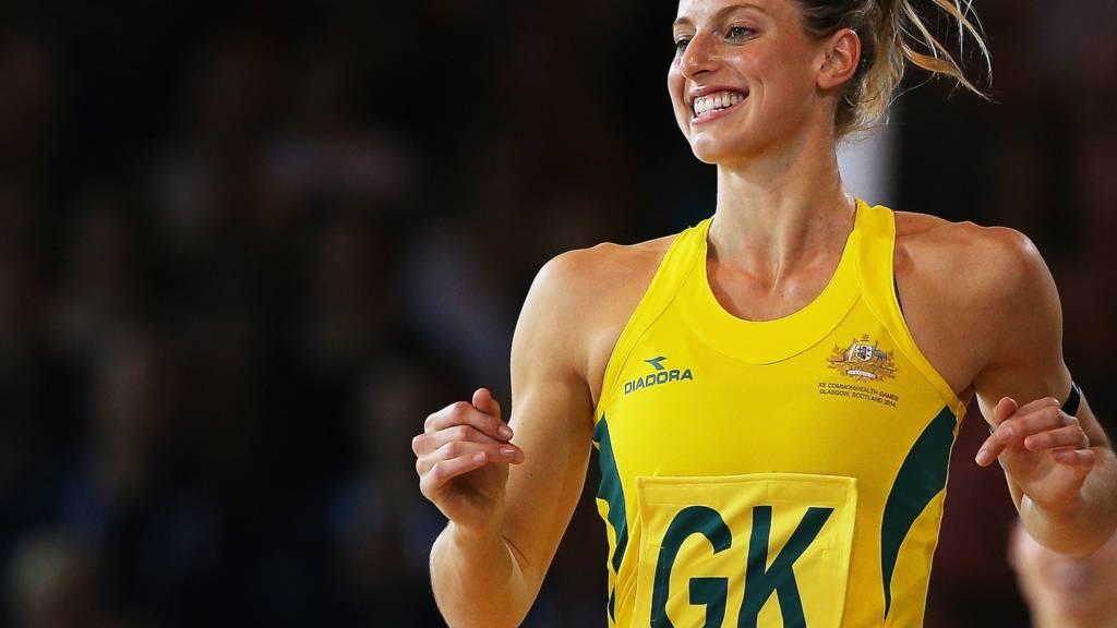 Laura Geitz, Australia's goal keeper