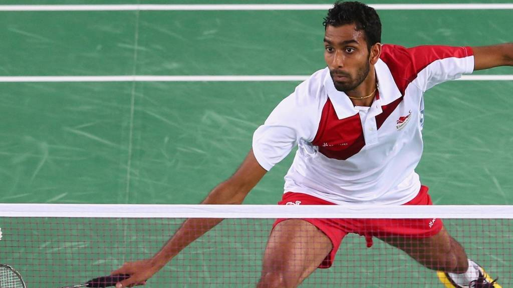 Rajiv Ouseph of England at Glasgow 2014