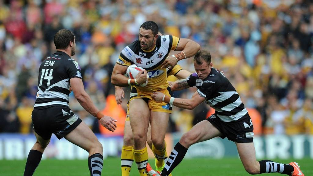 Castleford take on Widnes in the Challenge Cup semi-final