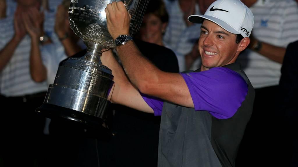 Rory McIlroy wins the US PGA Championship