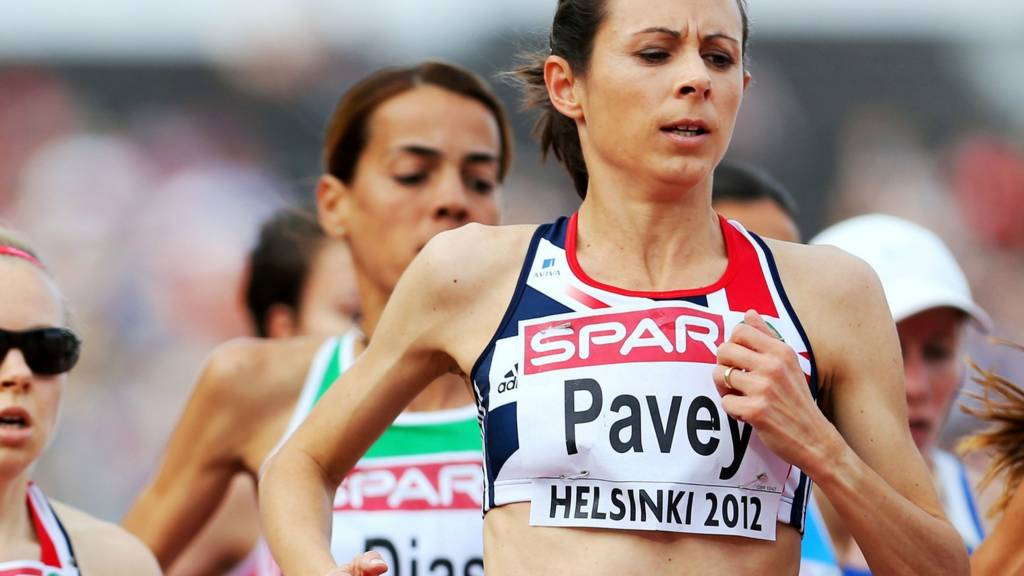 Jo Pavey is competing in the European Championships in Zurich