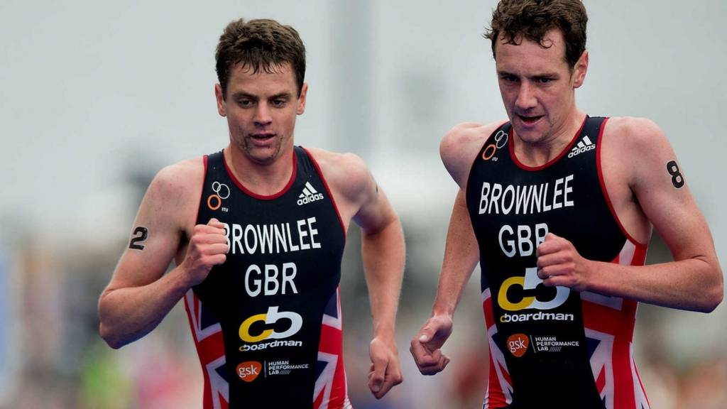 Alistair and Johnny Brownlee