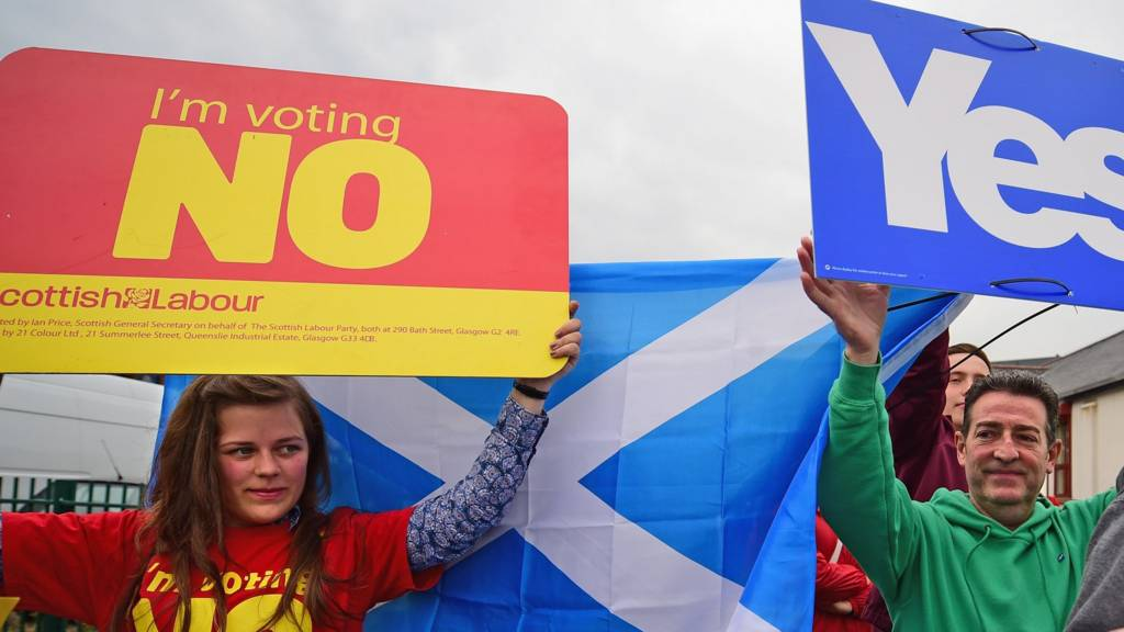 Yes and No campaigns