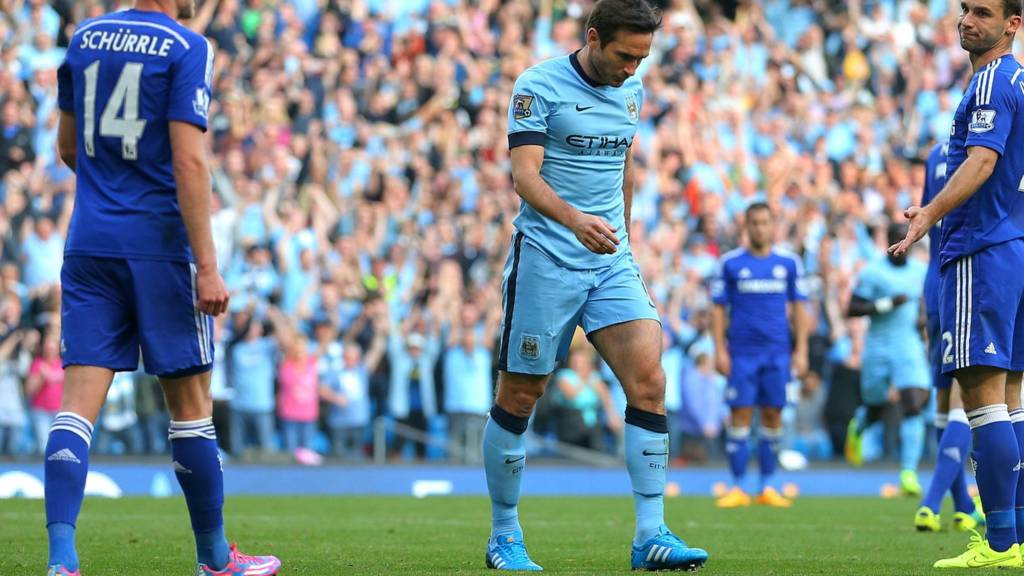 Frank Lampard refuses to celebrate against Chelsea