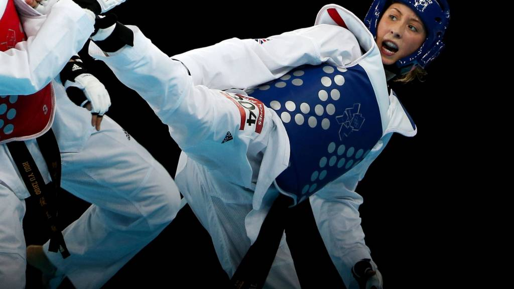 British taekwondo star Jade Jones