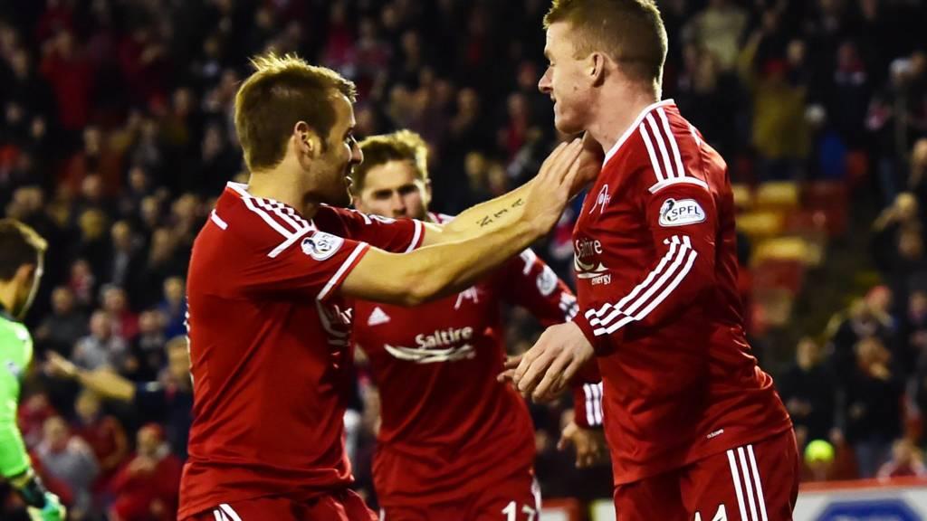 Jonny Hayes scored early for Aberdeen
