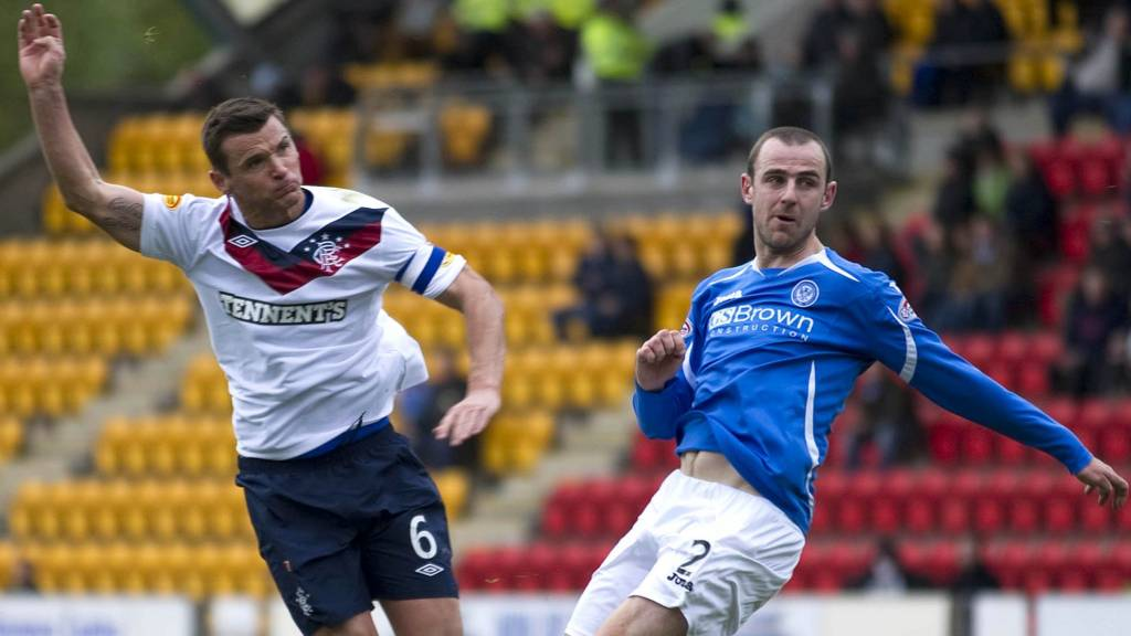 Lee McCulloch and Dave MacKay