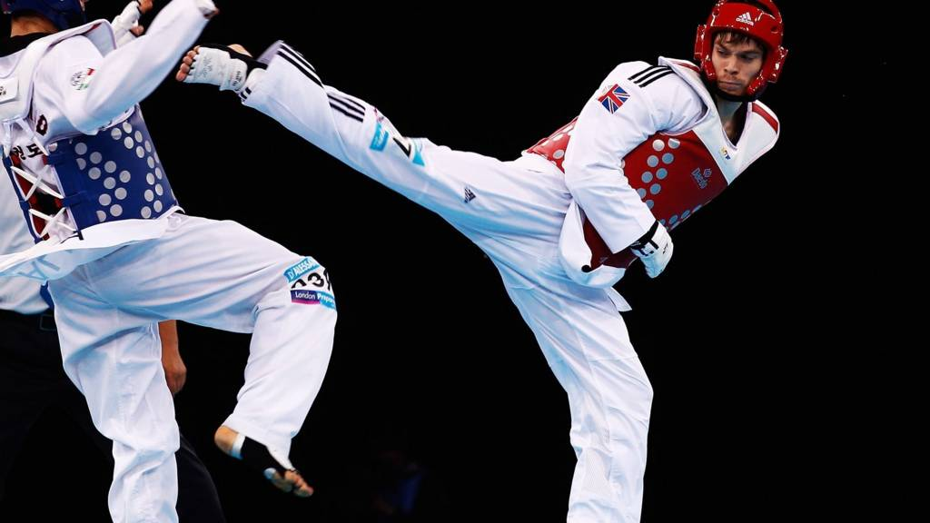Isle of Man taekwondo star Aaron Cook
