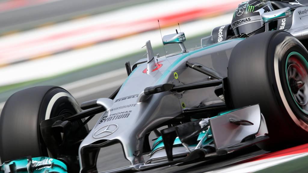Mercedes AMG F1 driver Nico Rosberg
