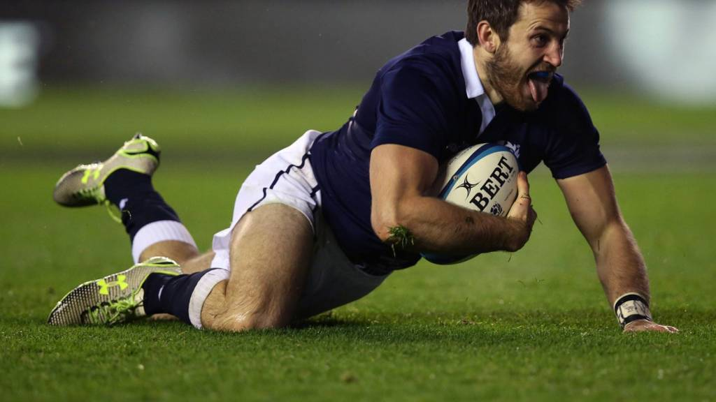 Scotland's Tommy Seymour
