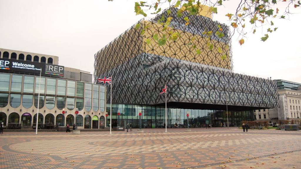 Birmingham: Library of Birmingham