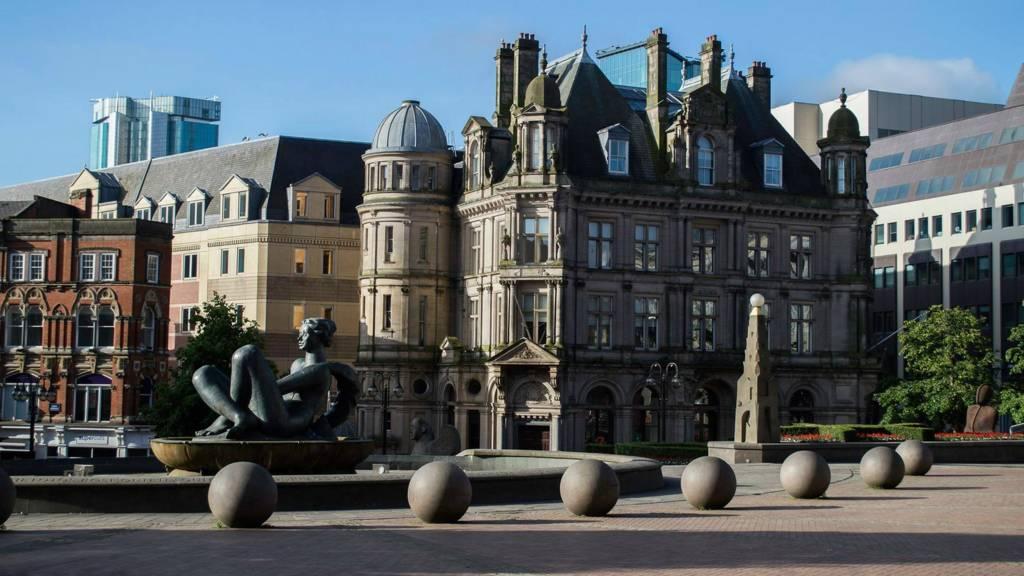 Birmingham: Victoria Square
