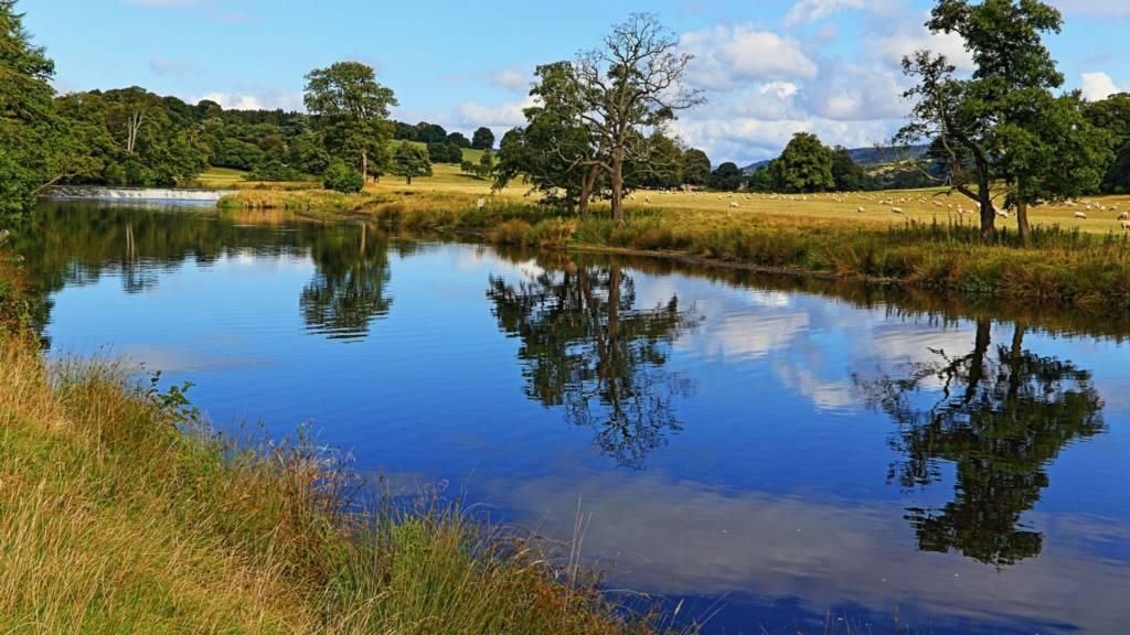 River Derwent at Chatsworth