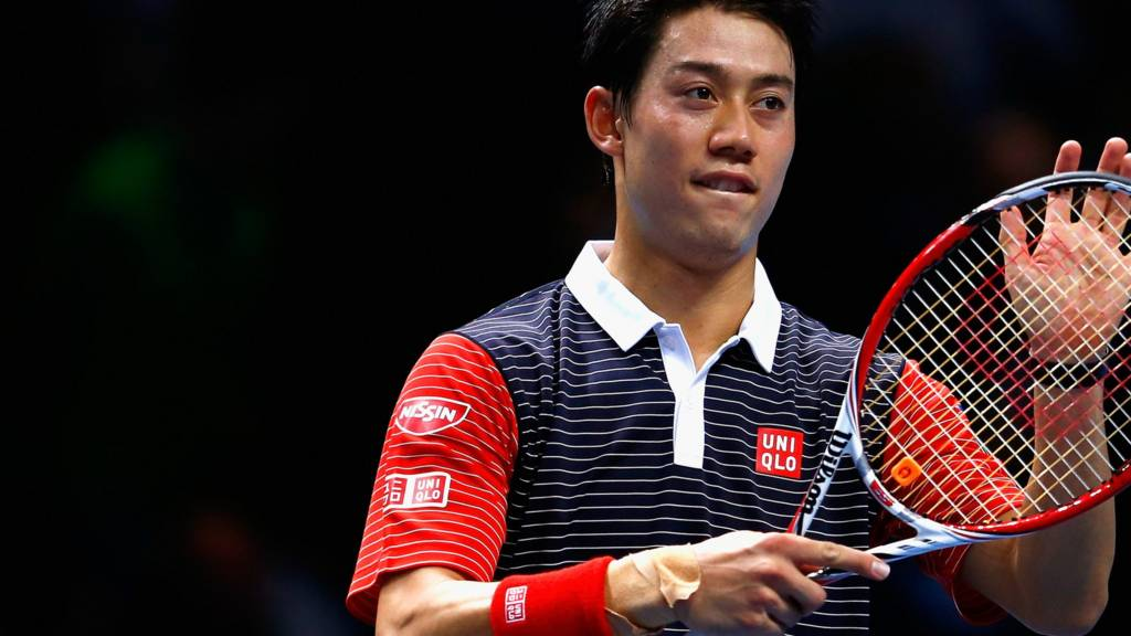 Kei Nishikori takes on replacement David Ferrer