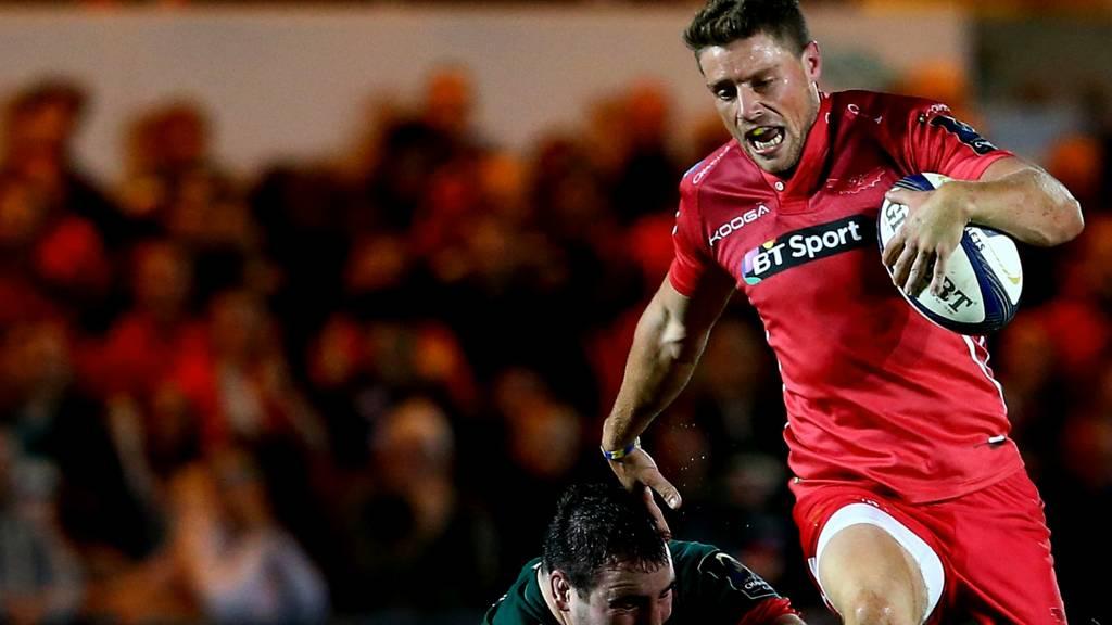 Scarlets' Rhys Priestland