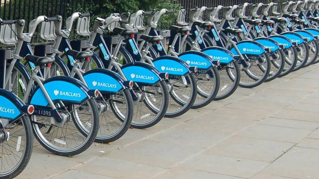 cycle hire bikes