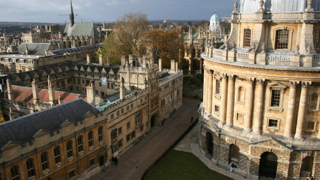 Oxford skyline and Radcliffe Camera