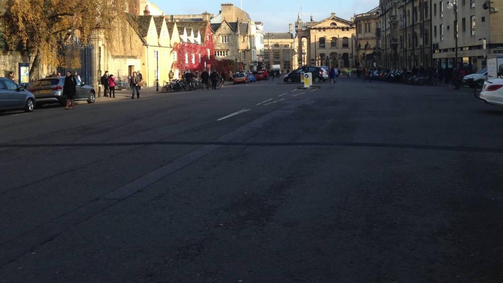 Broad Street in Oxford