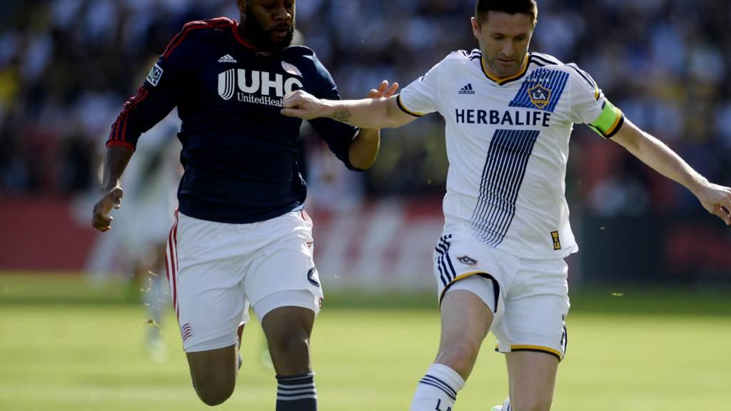 LA Galaxy striker Robbie Keane