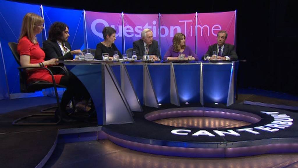 Question Time panel in Canterbury