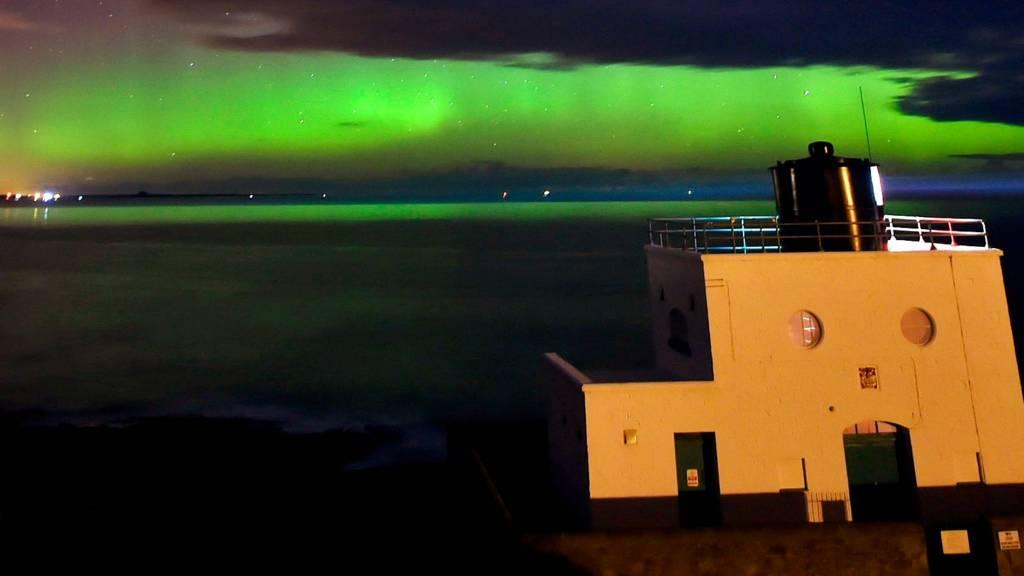 Aurora Borealis over Northumberland