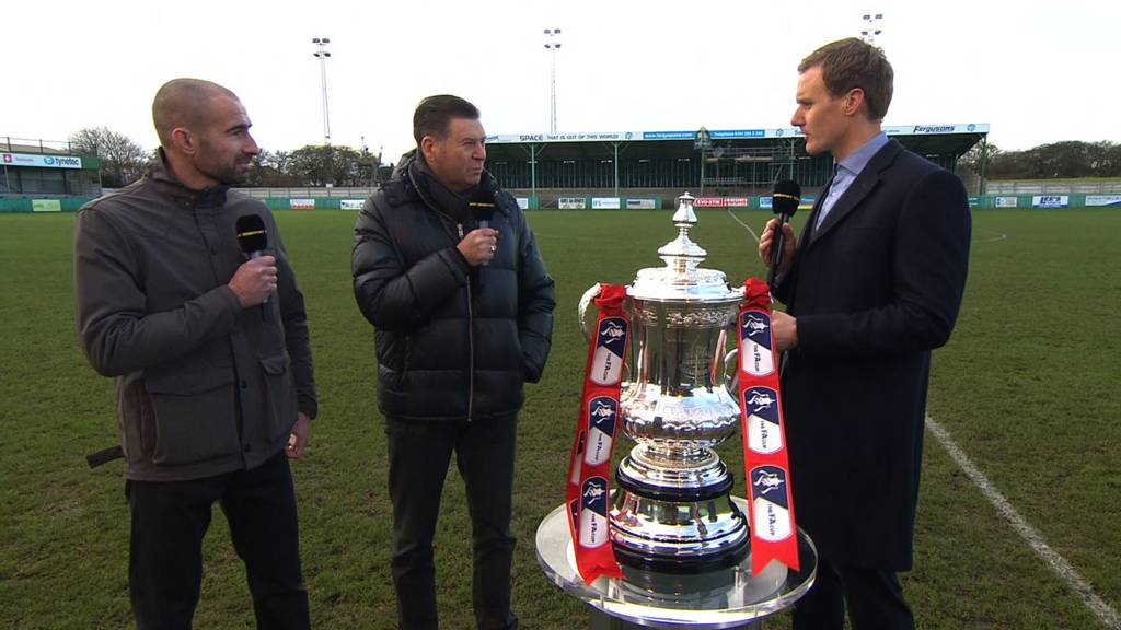 Football Focus live from Croft Park
