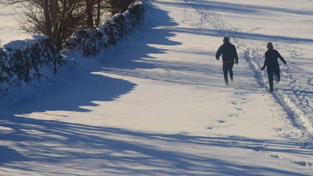 Bonsall snow
