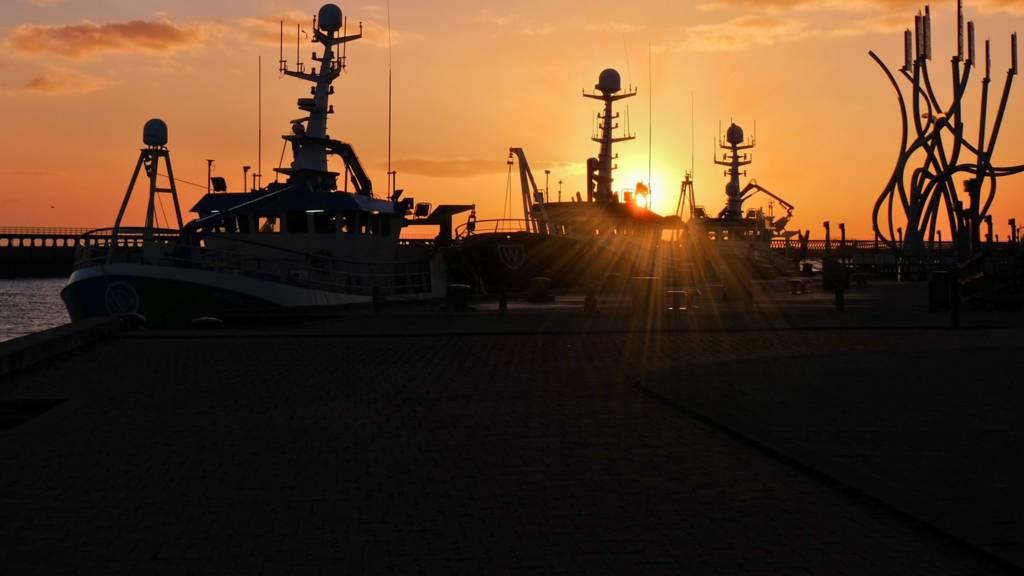 Ships in Blyth