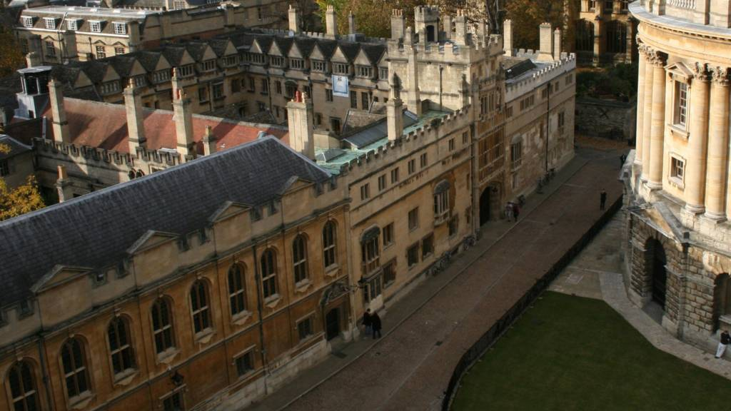 Radcliffe camera grounds