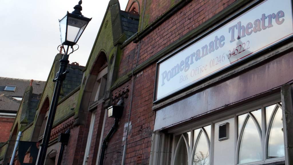 Pomegranate Theatre in Chesterfield