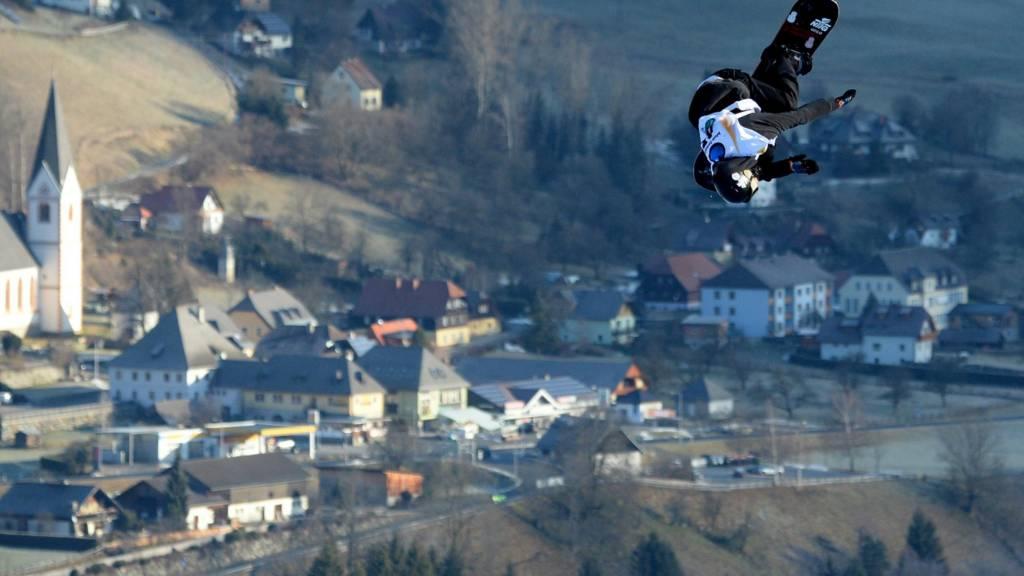Snowboard slopestyle in Kreischberg