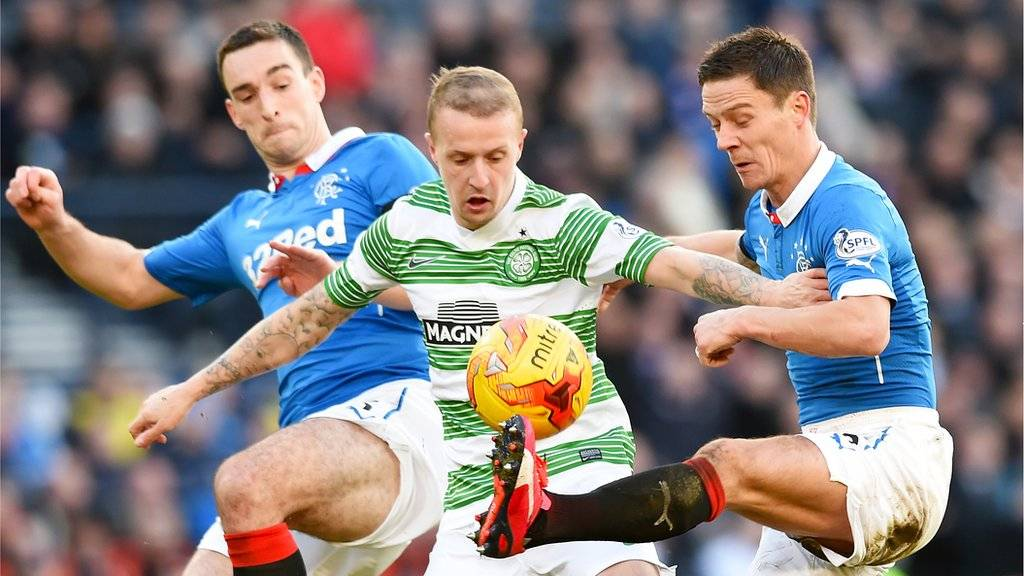 Lee Wallace, Leigh Griffiths and Ian Black