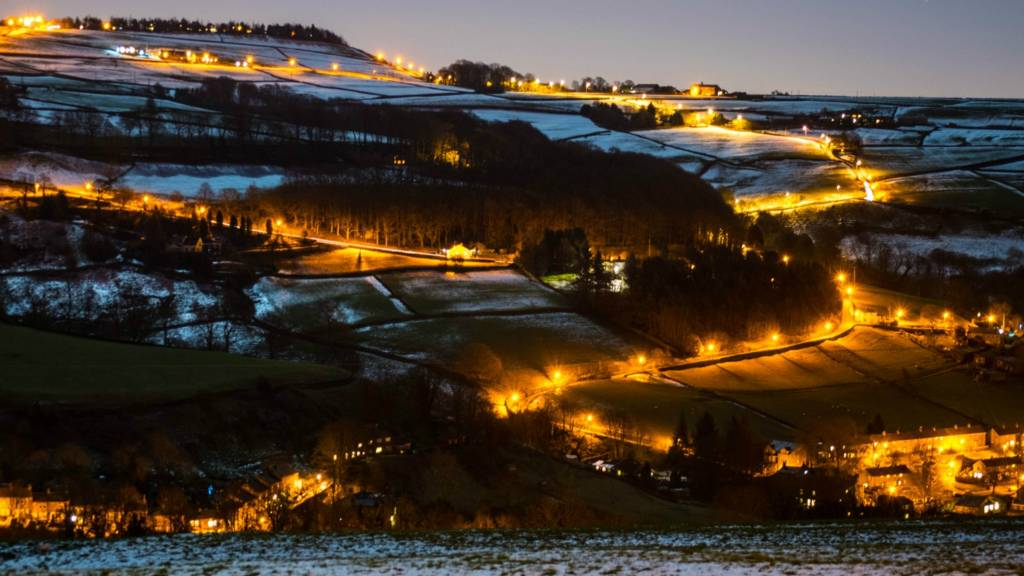 Luddenden Valley lights