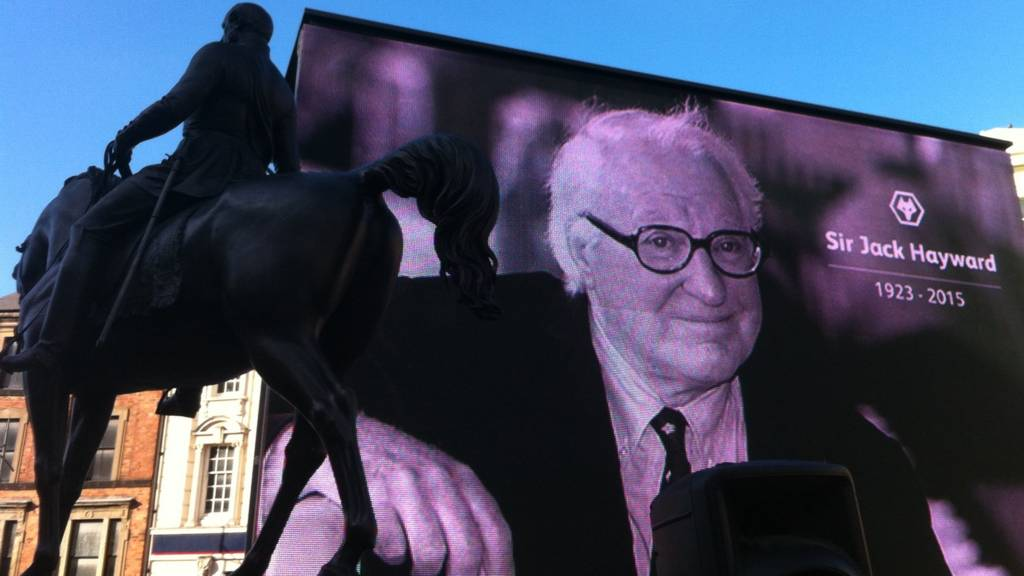 Sir Jack Hayward tribute