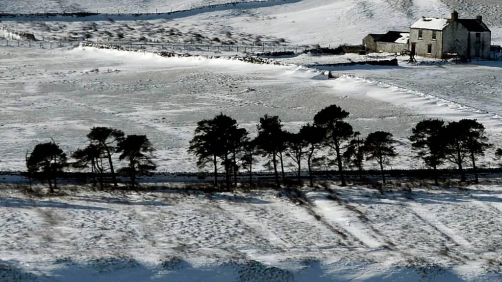 Snow in Teesdale