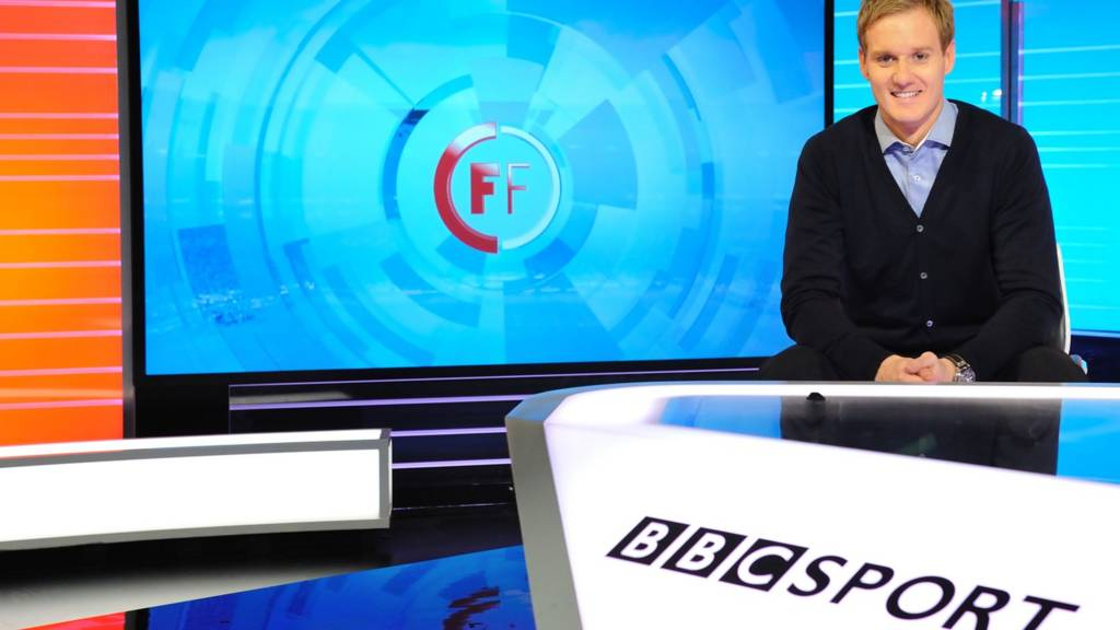Football Focus presenter Dan Walker
