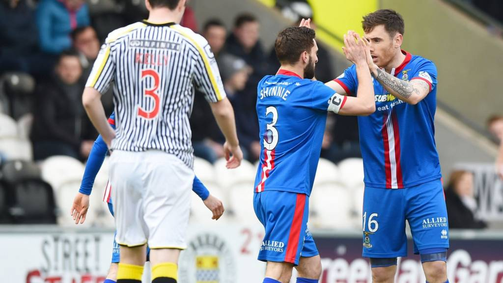 Inverness lead at St Mirren