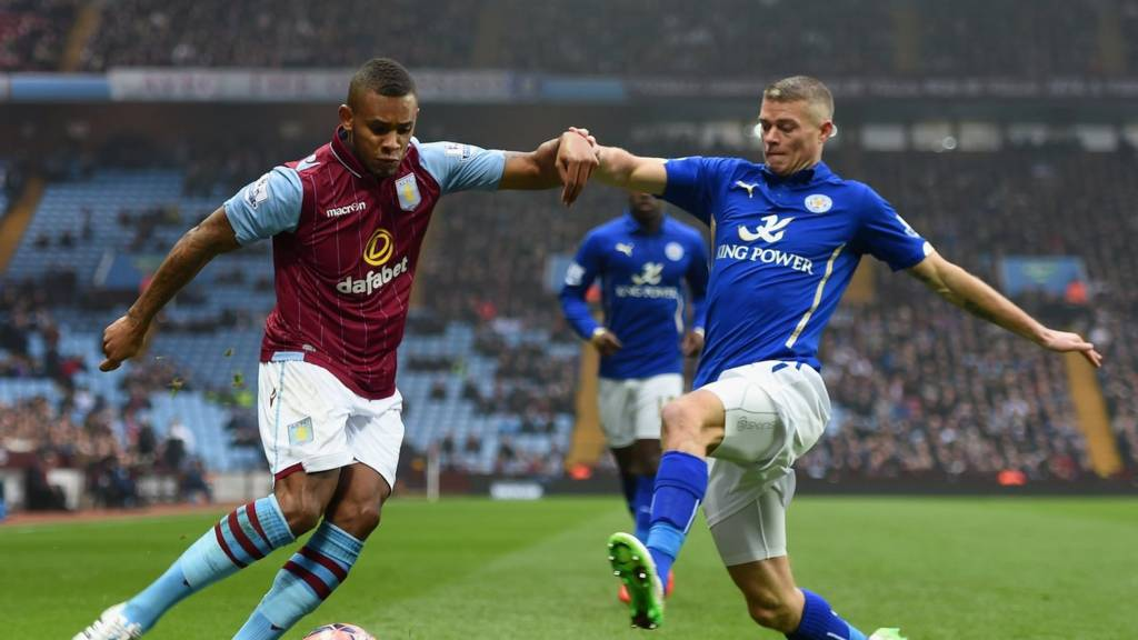 Paul Konchesky challenges Leandro Bacuna