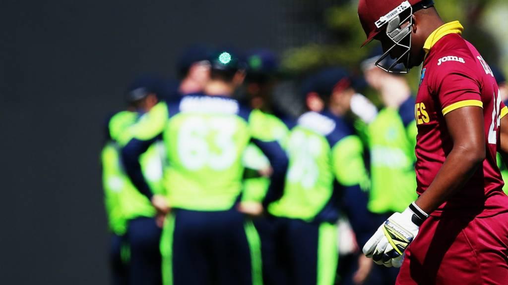 26695b8d418 ICC Cricket World Cup 2015: Ireland beat West Indies - Live - BBC Sport