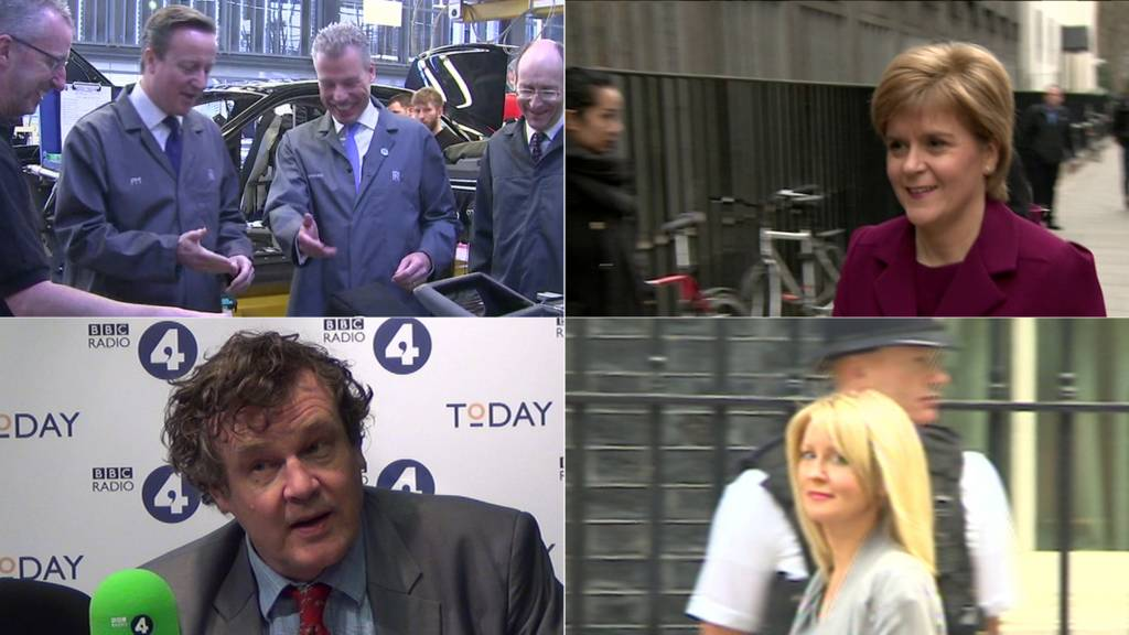 Cameron, Sturgeon, Oborne, McVey
