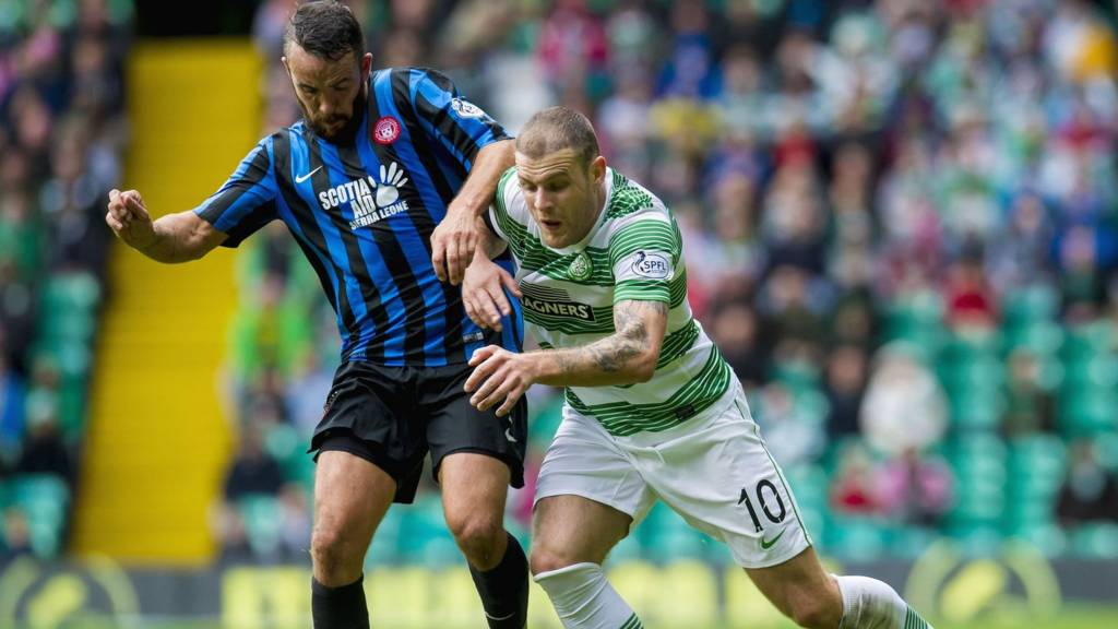 Dougie Imrie and Anthony Stokes