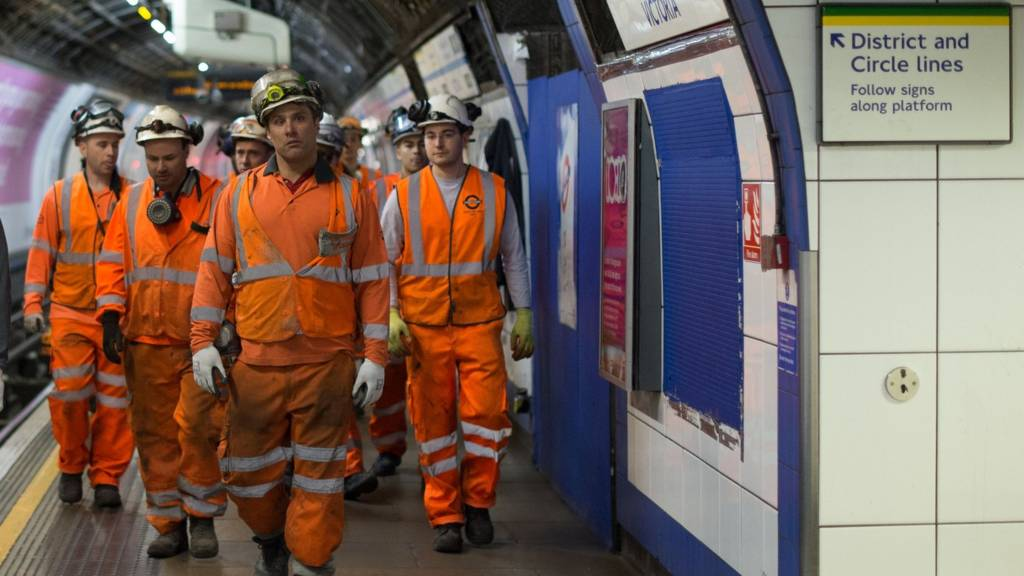 Tube workers