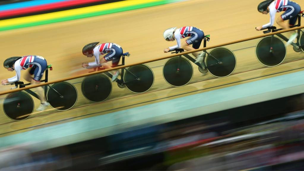 GB women cyclists