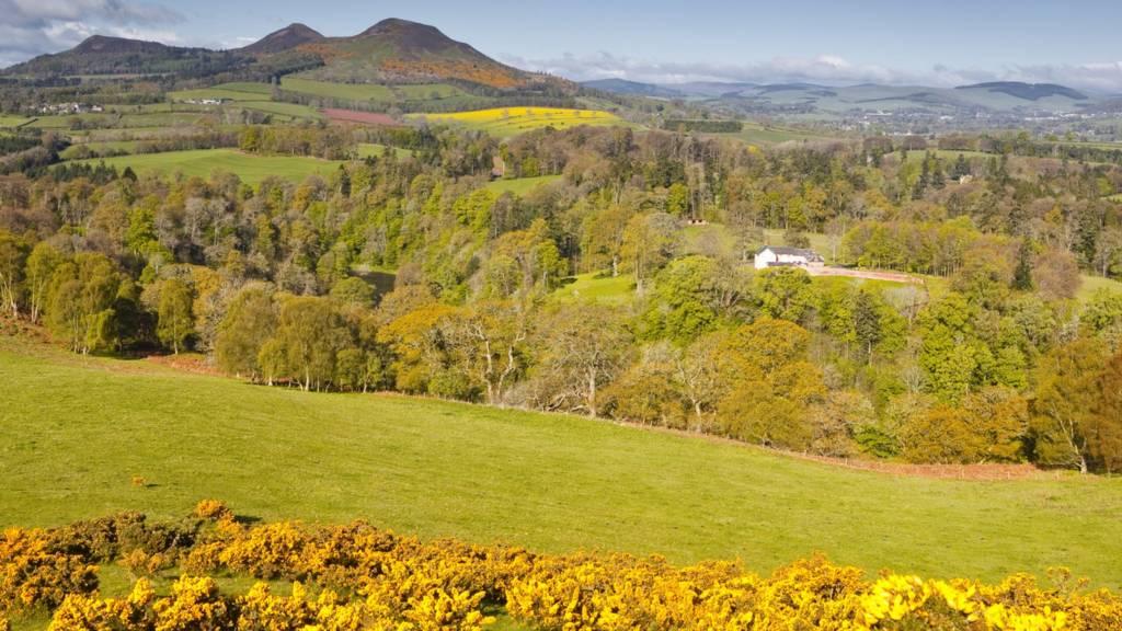 Scott's View in Scottish Borders