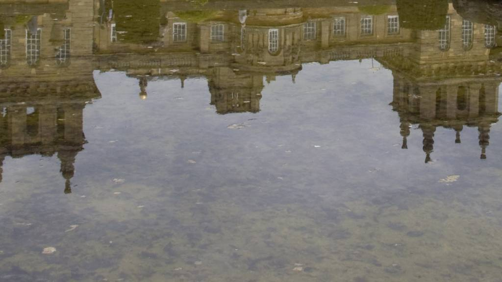 Blenheim Palace reflection