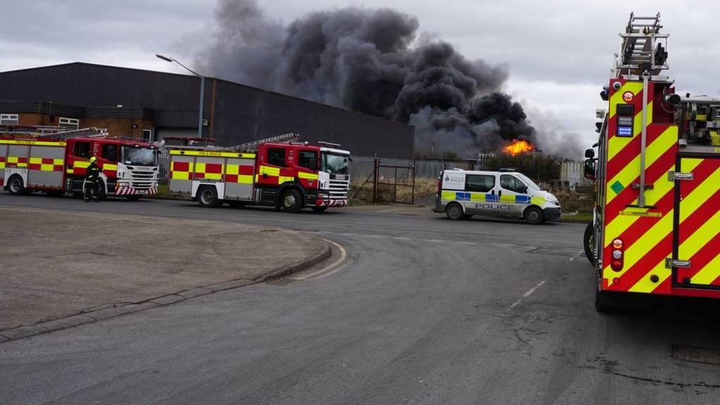 fire in eaglescliffe