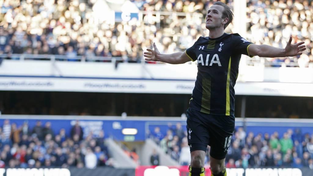 Kane scores second goal
