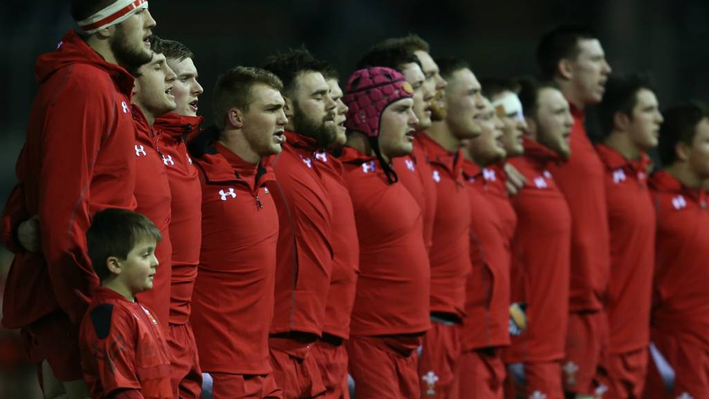 Wales U20 line up